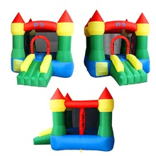 India free shipping inflatable bouncer castle kids home jumping castle with air blower