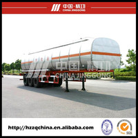 Made in China fuel liquid materials tank Truck Trailer