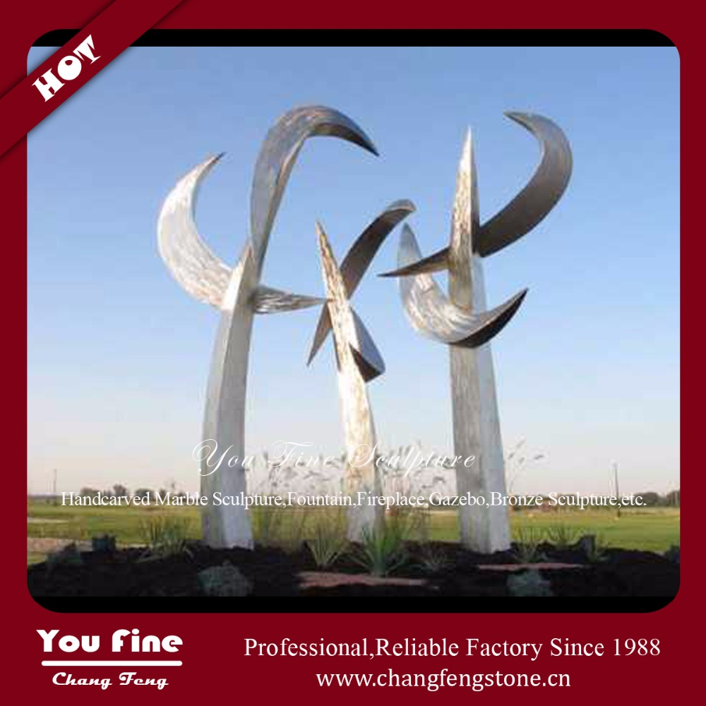 Large Size Stainless Steel Sculpture For City Decoration