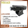 Led Ellipsoidal Zoom Gobo Projector 40W