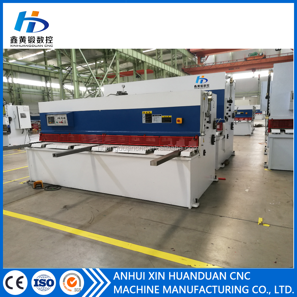 QC12K series small mini used sheet metal shearing machines for 1-4mm steel plate