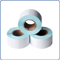 Direct thermal decorative blank labels