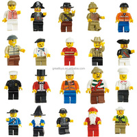 plastic miniature figures building blocks