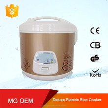 top restaurant large rice cookers with colorful printed electric stainless steel pot sale