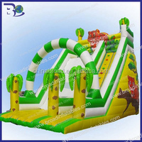 HOT!!! Home and mall giant adult inflatable slide
