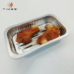 740ml microwave take away disposable aluminum foil food containers