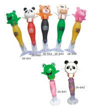 Animal moving head customized plastic ball pen