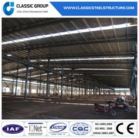 China Prefabricated Construction Factory Light Steel Structure Building for Warehouse