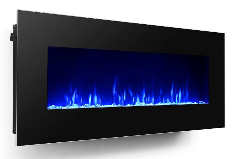 50 Inch Length Larger Wall mounted Electric Fireplace