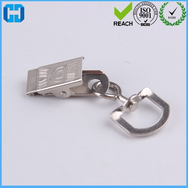 Name ID Card Holder Badeg Clips With Swivel Rotating D Ring