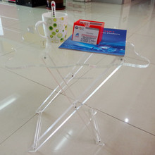 Top sell foldable acrylic table, clear acrylic coffee table, table acrylic furniture