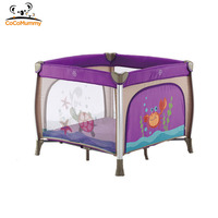 Wholesale High Quality Mesh Fabric Playpen Crib With Changing Table