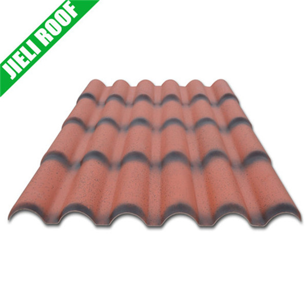 plastic roof tile/roof tile edging/ASA PVC roof