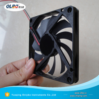 OEM Manufacture DC Cooling Fan 80x80 Axial Fan Cooler 8010 12V 24V DC Brushless Cooling Fan with Facotry Price
