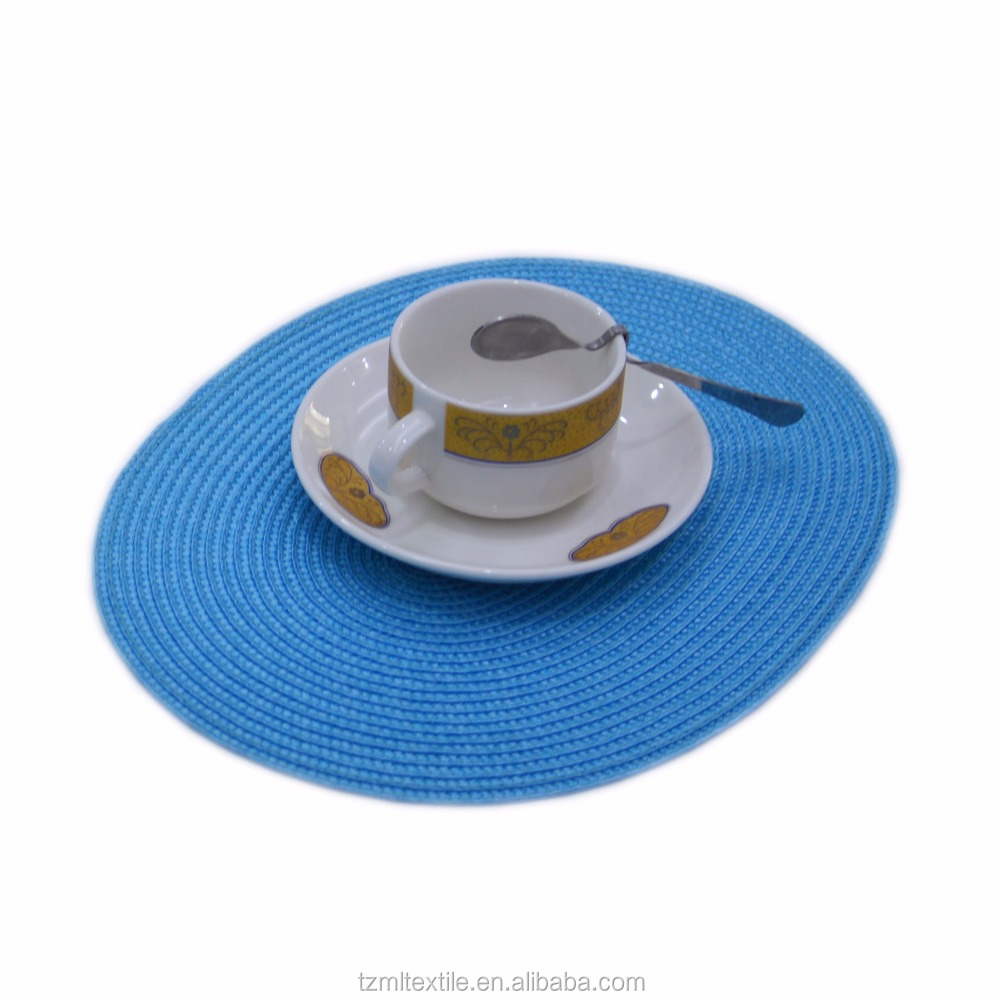 Pattern Round Paper Table Place Mat and Coaster