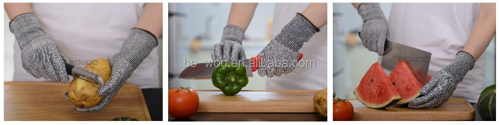 Food Grade Great White Cut Resistant Gloves Kitchen
