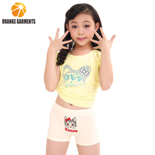 Eco-Friendly lovely child girl's panties and new pants design for girl