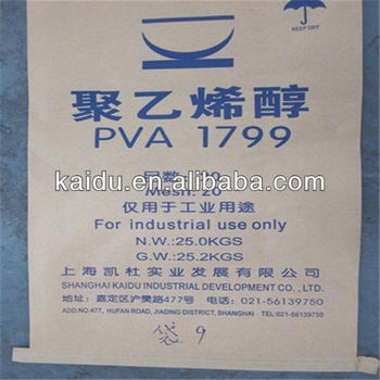 polyvinyl alcohol 1799 for textile