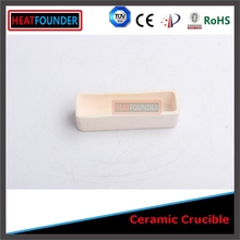 Wholesale refractory al2o3 ceramic 99-99.7% alumina crucible for metal melting in laboratory