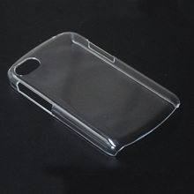 Transparent Clear Crystal PC Hard Back Cover Case For BlackBerry Q10