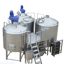 3HL 5HL 7HL 10HL 15HL brewing equipment with brew house and concial stainless steel fermentation tanks mash tun boil tank