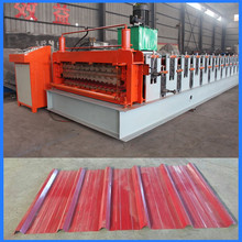 Corrugated roof sheet making machine IBR roof sheet machine metal roofing roll forming machine for sale
