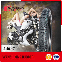 High quality 2.50-17 off road motorcycle tire