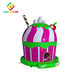 2018 new design Customized Colorful Outdoor jumping castle inflatable bounce house