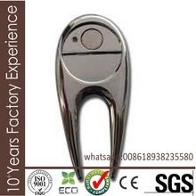 RI484 Professional hot sell divot sets custom magnetic ball marker for golf club with CE certificate