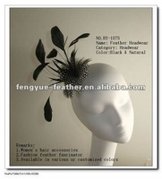 fashion feather brooch /feather fascinators/,feather headband,feather pad