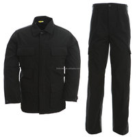 Factory price security guard black bdu uniform