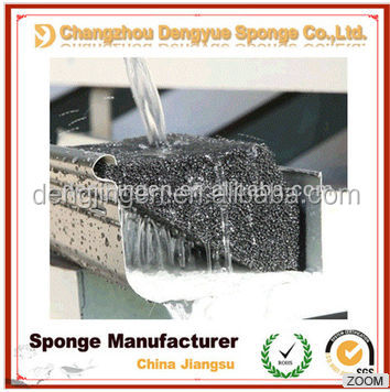 Machine Filtration Breathable Reticulated high tensile strength and tear resistance Open Cell Holes Porous Foam Filter Media