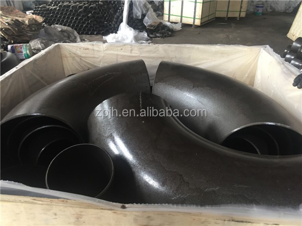Carbon Steel Black Painting DN100 90 Degree Elbow