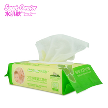 100% biodegradable flushable baby wet 99.9 water wipes