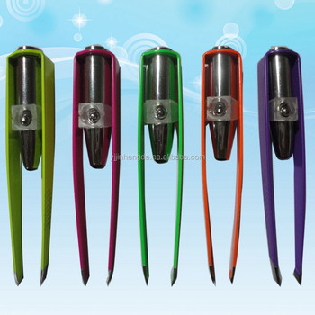 Made in China led spotlight eyebrow tweezers