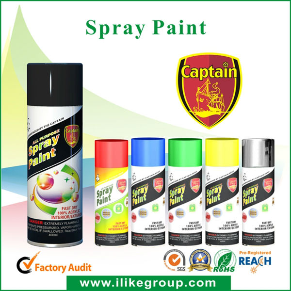 Aerosol Motorcycle Spray Paint