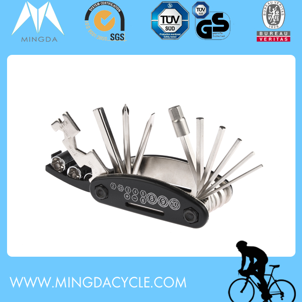 16 in 1 Muti-Functional professional bicycle repairing kit