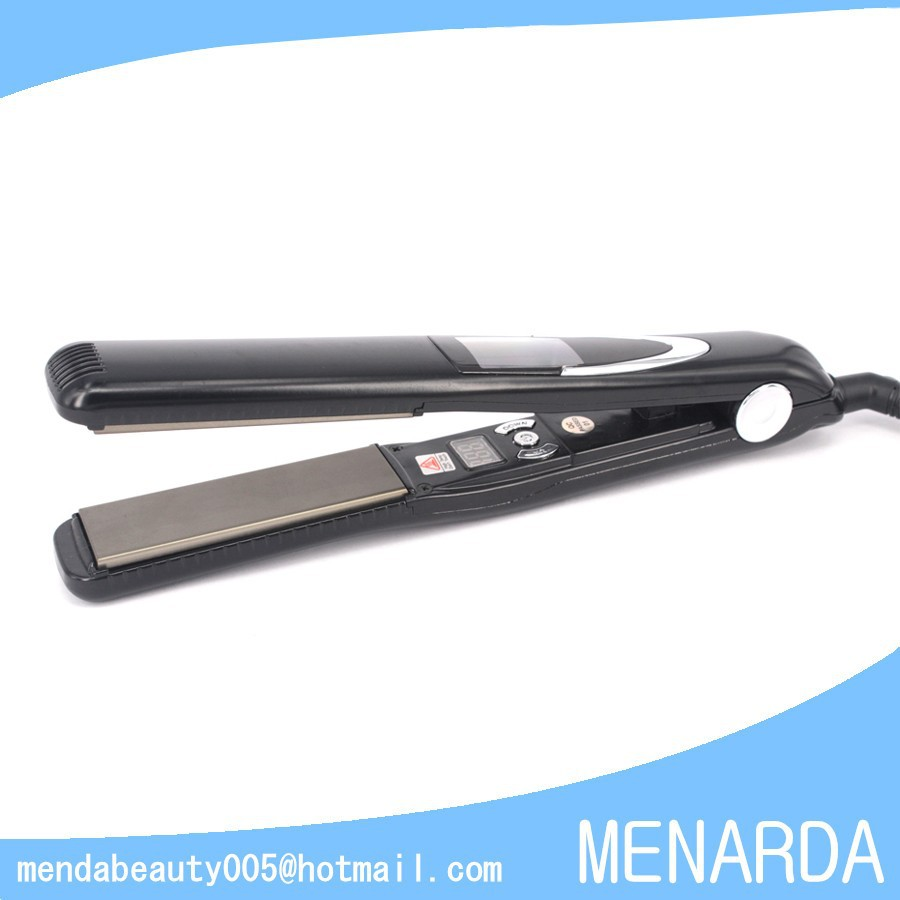 Professional 470F 243C MCH Super High Temperature Titanium Hair Straighteners Vibrate Flat <strong>Iron</strong>