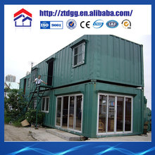Newly designed low cost wood house from China manufacturer