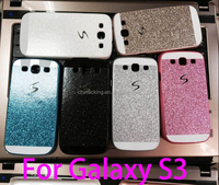 Luxury Glitter Bling Phone Case Shinning Cover for Samsung Galaxy S3 S4 S5 S6 Back Cover Sparkling Case for Galaxy S5 G900