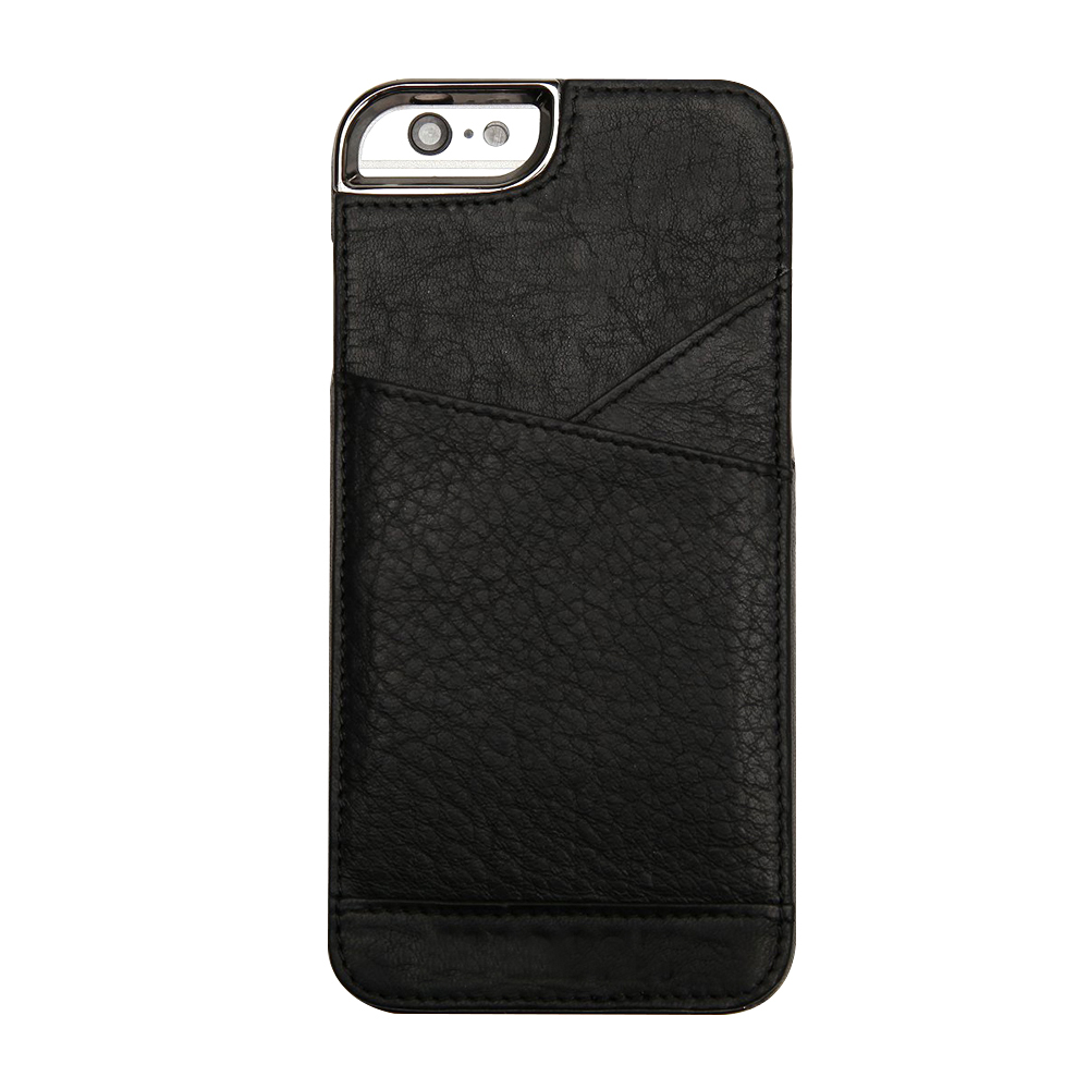 build your own men's handmade genuine leather mobile phone accessories for iphone 6