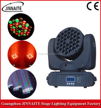 Jinnaite DMX 36 * 3W LED RGBW 4in1 Wash/Beam Moving Head stage light