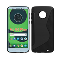 S Line TPU Phone Cover Case For Motorola For Moto G6 Plus Accessoire Telephone