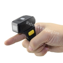 1D & 2D Mini Bluetooth Ring Barcode Scanner for Android & IOS System