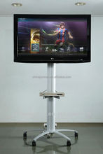 Adjustable lcd tv stand/Luxury floor free lcd / led TV stand series with kinds of screens for different size TV