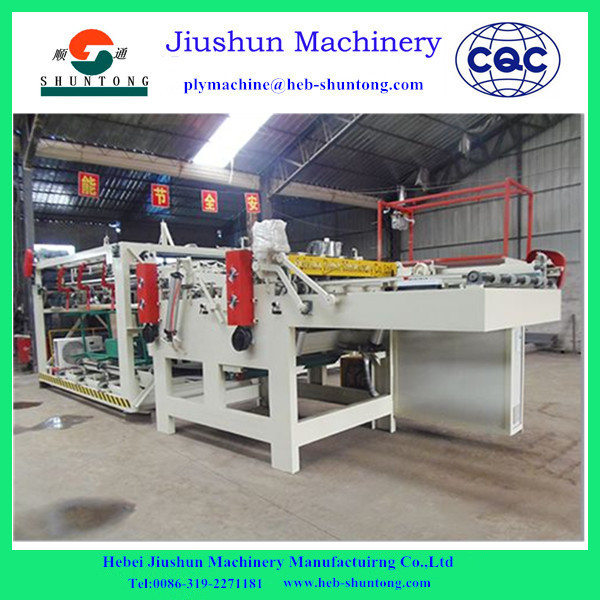 Plywood core veneer composer jointing machine for veneer making directly from jiushun factory