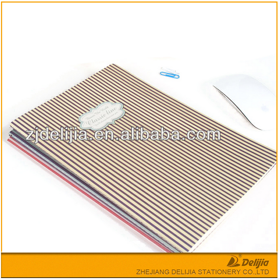 perfect bound cheap plain custom A4 paper notebook /school notebook/exercise book wholesale