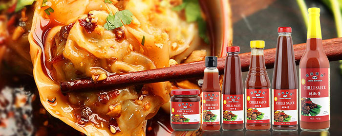 Asian Hot Chilli Sauce glass bottle 500g
