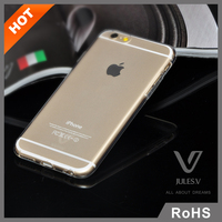 "For iPhone 6 Case 4.7"" Slim Transparent Crystal Clear Hard TPU Back Cover"