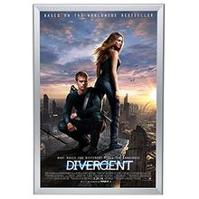 Backlit Movie Poster Art Picture Frame <strong>Led</strong> <strong>Light</strong> <strong>Box</strong> with Aluminum Snap Photo Frame Sign Holder